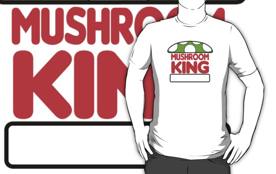 Mushroom King by FAMOUSAFTERDETH