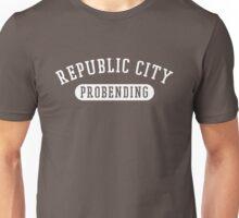 Republic City Probending (White on Black) Unisex T-Shirt