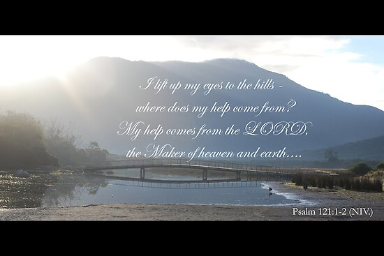 I lift up my eyes to the hills Psalm 121 by Catherine Davis