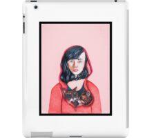 Hooded Being  iPad Case/Skin