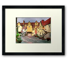 Old Edinburgh Mews Framed Print