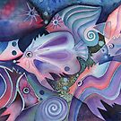 fanciful fish I by Karin Zeller