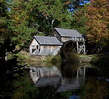 Mabry Mill, Blue Ridge Parkway by ejusten