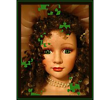 Doll Puzzle Photographic Print