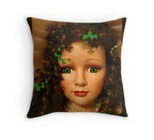 Doll Puzzle Throw Pillow