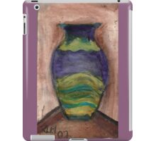 Hand-Painted Vase iPad Case/Skin