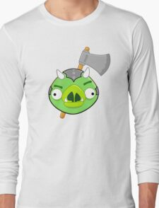 Angry Birds Vs. Gamorreans Long Sleeve T-Shirt