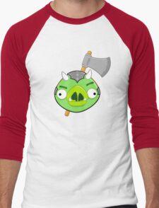 Angry Birds Vs. Gamorreans Men's Baseball ¾ T-Shirt