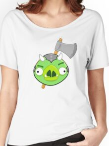 Angry Birds Vs. Gamorreans Women's Relaxed Fit T-Shirt