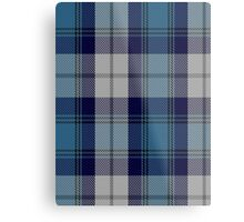 00368 Arran District Tartan  Metal Print