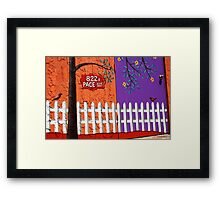 822 Pace Avenue Framed Print