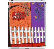 822 Pace Avenue iPad Case/Skin