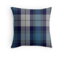 00368 Arran District Tartan  Throw Pillow