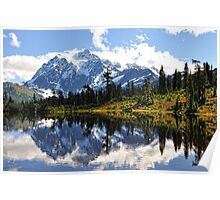 Mt. Shuksan, Picture Lake Poster
