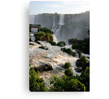 Iguazu Falls, Brazil, South America Canvas Print