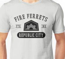 Republic City's Fire Ferrets (Black) Unisex T-Shirt