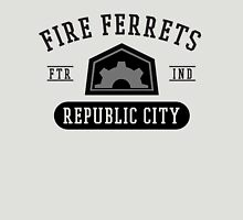 Republic City's Fire Ferrets (Black) Unisex T-Shirt