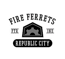 Republic City's Fire Ferrets (Black) by cnfsdkid