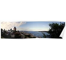Quebec Panorama Poster