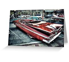 """""""59 Chevy"""" Greeting Card"""
