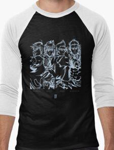 FINAL FANTASY XV ~ CAST Men's Baseball ¾ T-Shirt
