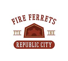 Republic City's Fire Ferrets (Red) by cnfsdkid