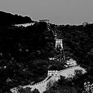 """Great Wall of China in B&W by Christine """"Xine"""" Segalas"""