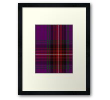 00369 Arran Fashion Tartan  Framed Print