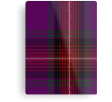 00369 Arran Fashion Tartan  Metal Print