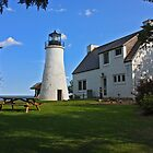 Old Presque Isle Lighthouse by Megan Noble