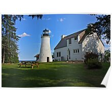 Old Presque Isle Lighthouse Poster