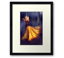 When Time Stops Framed Print