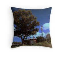 down&out Throw Pillow