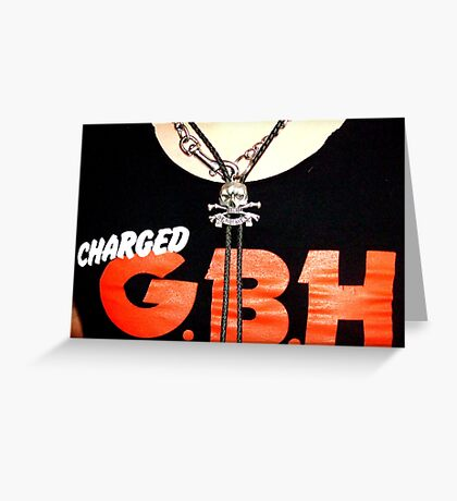 Charged Greeting Card