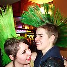 Green Mohawk Love by Melynda
