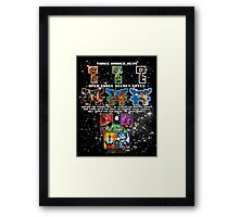 Anorak's Invitation - Ready Player One Framed Print