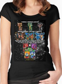 Anorak's Invitation - Ready Player One Women's Fitted Scoop T-Shirt