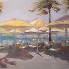 Lunch by the harbour by Tash  Luedi Art
