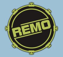 Green Black Remo In Drum Kids Clothes