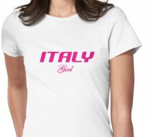 ITALY GIRL Womens Fitted T-Shirt
