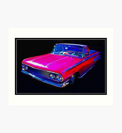 """Camino"" Rojo Art Print"