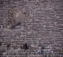 The entrance - Giza pyramids by NicoleBPhotos