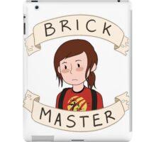 Ellie-Brick Master iPad Case/Skin