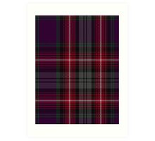 00370 Isle of Arran Fashion Tartan  Art Print
