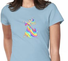 Polychrome the Fairy Daughter of the Rainbow by Kevenn T. Smith Womens Fitted T-Shirt