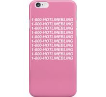 1-800-HOTLINEBLING iPhone Case/Skin