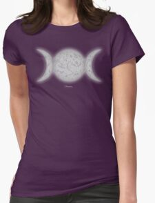 Triple Moon Glow by Kevenn T. Smith T-Shirt