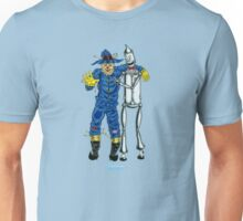 Scarecrow and the Tin Woodman by Kevenn T. Smith Unisex T-Shirt