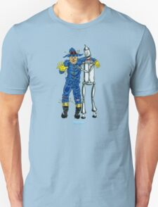 Scarecrow and the Tin Woodman by Kevenn T. Smith T-Shirt