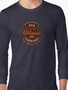 Vintage Gibson Guitars 1959 Long Sleeve T-Shirt